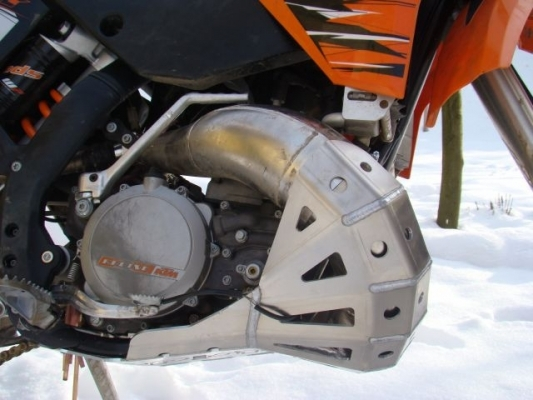 Ktm Exhaust Guard